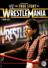 WWE - The True Story Of Wrestlemania  DVD R4 PAL NEW (NOT SEALED) FREE POST