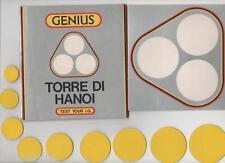 GIOCO DA TAVOLA DI CARTONE - TORRE DI HANOI - DA SOFTEL EXPO 1988