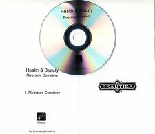 HEALTH & BEAUTY Riverside Cemetery 2016 UK 1-track promo test CD