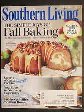 SOUTHERN LIVING  The Simple Joys of Fall Baking  September 2016