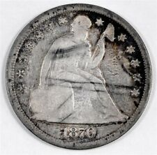 1870 CC Seated Liberty Silver Dollar -- 12,462 minted --