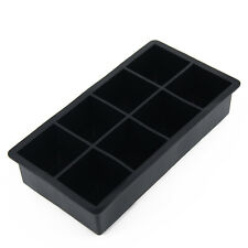 Silicone Ice Cube Mold Mould Tray Maker Square Kitchen Bar Tools Large