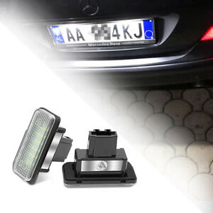 LED-Kennzeichenleuchten Canbus für Mercedes Benz C E CLS SLK Class W203 W219