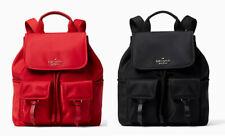 🌸NWT Kate Spade Carley flap backpack bookpack nylon shoulder Bag purse laptop