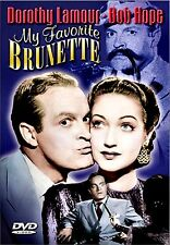 NEW DVD // My Favorite Brunette //Peter Lorre, Bob Hope, Dorothy Lamour