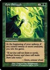 Epic Struggle - LP - Judgment MTG Magic Cards Green Rare