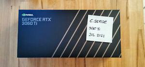 NVIDIA GeForce RTX 3060 Ti Founders Edition FE | 8GB | Neu✅ OVP✅ lieferbar✅