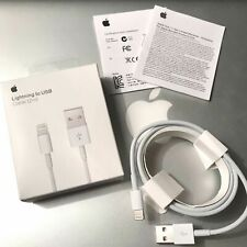 Genuine Original Apple iPhone Lightning Cable 2m 6ft USB Charging Cord Authentic