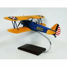 Daron Worldwide Pt-17A Stearman Kaydett Model Airplane, Orange