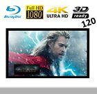 "VisuaLax 120"" Fixed Frame TV Cinema Entertainment Projector Screen"