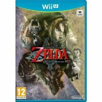 NINTENDO WII U THE LEGEND OF ZELDA - TWILIGHT PRINCESS MINT- SUPER FAST DELIVERY