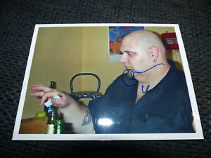 POPA CHUBBY signed 5x6.5 autograph Photo InPerson in Germany LOOK