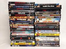 Lot of 46 DVDs, All R-Rated Adult Action Drama Comedy Movies, Shows