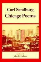 Chicago Poems [Prairie State Books] [ Sandburg, Carl ] Used - VeryGood