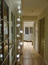 Vintage Style Light-bulb Fairy Lights. 10 Acrylic Globes 90 Bright White lights