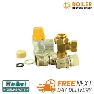 VAILLANT REMOTE MOUNTING PRESSURE RELIEF VALVE - 0020094185 - New