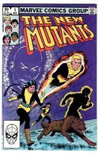 New Mutants #1, ORIGIN of Karma, 1982/3 MARVEL Comics; HIGH GRADE A761