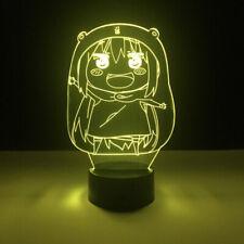 3D Anime Himouto! Umaru-chan Night Light LED Room Art Decor Table Desk Lamp Gift
