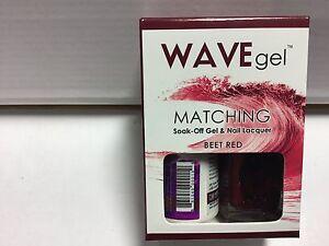 Wave Gel matching Soak Off gel polish Pick Your Color 0.5 oz / 15mlLED/UV List B