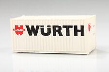 H0 Bonita Contenedor Würth Hccr 285154 Suciedad/Arañazo o Emb.orig