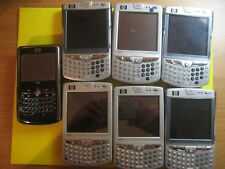 LOT of 7 HP iPAQ Mobile Messengers Assorted Models (Unlocked) UNTESTED