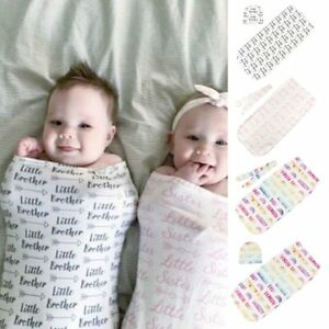 0-3 Months Pure Cotton NewBorn Baby Boy/Girl Swaddle Blanket Wrap Sleeping Bag