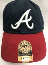RARE Atlanta Braves '47 Brand Large Baseball Hat ⚾️ Made From Recycled Bottles