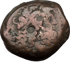 Ptolemy VI Philometor King of Egypt 170BC Ancient Greek Coin Two Eagles i36840
