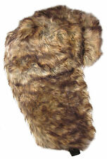 Dakota Dan Faux Rabbit Fur Trapper Trooper Bomber Hat or Ski Hat All Fur Hat