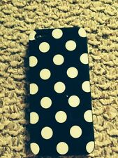 Black Case with White Polka Dots for Apple iPhone 5