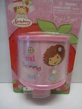 Strawberry Shortcake Night Light~L@Key~ New Free Shipping ~Berry Cool Girl