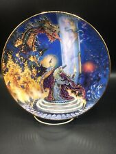Dragon Master Royal Doulton Limited Edition Collector Plate By Franklin Mint ~