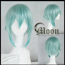 Sword Art Online Gun Gale Online GGO Asada Shino green Cosplay Wig Anime hair