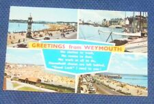GREETINGS FROM WEYMOUTH