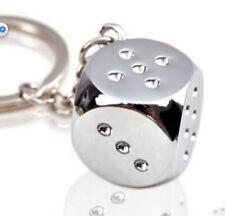 Creative Dice for mahjong Key Chain Ring Keychain Keyring Key Fob gift