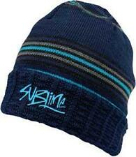 """Sublime Beanie/Knit Hat/Cap """"Striped Long Beanie"""" Official/Licensed Osfm New"""