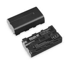 Phot-R NP-F550 2200mAh 7.4V L Series Rechargeable Li-ion Battery Pack for Sony