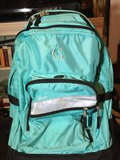 LL Bean Rolling Deluxe Bookbag Backpack Extendable Handle Luggage Carry On