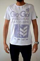 Mens Gio Goi Printed Branded Designer Logo Causal Tee Top T Shirt Summer