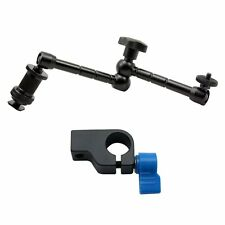 "11"" Magic Arm for LED Light LCD Monitor DLSR Camera with 15mm Rod Clamp holder"