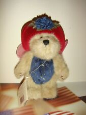 Boyds Bears Flutter Flowerflit Plush Ornament