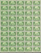 Bankers Association (1950) - Vintage Full Mint Sheet of 50 U.S. Postage Stamps