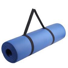Adjustable Yoga Mat Sling Carrier Shoulder Strap Carry Belt Carrying Sling Black
