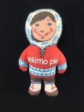 "VINTAGE ADVERTISING PROMOTIONAL ITEM 15"" ESKIMO PIE 1970'S PLUSH DOLL ICE CREAM"