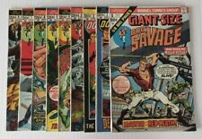 Doc Savage The Man Of Bronze #1-8 + Giant Size #1 (1972-1975) Complete Vol. 1