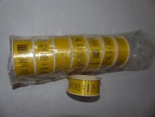 Ribbon Yellow, 1 3/16 in. x 24 ft(8 yds) 8 rolls Hallmark brand