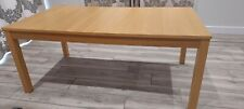 BJURSTA IKEA Extending dining table, Oak, VG condition, 2 available