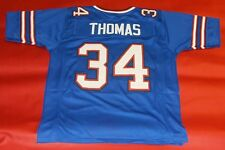 THURMAN THOMAS CUSTOM BUFFALO BILLS NS JERSEY