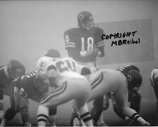 Mike Tomczak Photo Chicago Bears v Eagles Fog Bowl Game 1988 NFC (c) Reibel