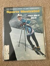 FM5-22 Sports Illustrated Magazine 11-17-1969 SKIING ITALY